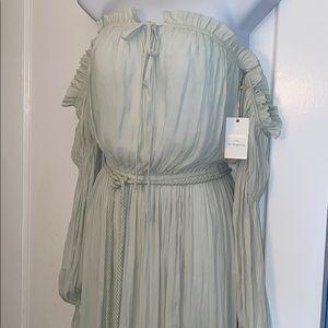 NWT off the shoulder flowy dress